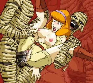 Scooby doo daphne monster porn
