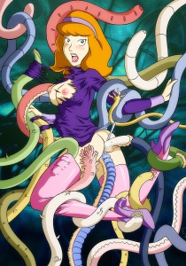 Some more tentacles porn for you, the readers of my blog! Daphne is screwed ...